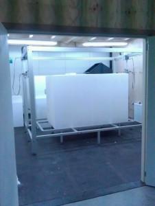 Airpop snij machine afmeting 150x150x200cm
