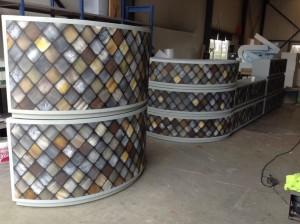 Container met airbush werk